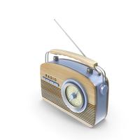 Fifties Radio PNG & PSD Images