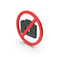 Symbol No Photography Red PNG & PSD Images