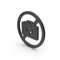 Symbol No Image Black PNG & PSD Images