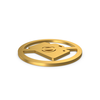 Gold Symbol No Photography PNG & PSD Images
