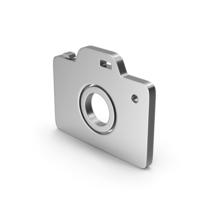 Symbol Photo Camera Silver PNG & PSD Images