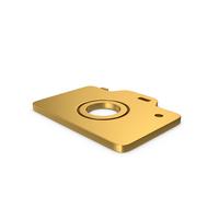 Gold Symbol Photo Camera PNG & PSD Images