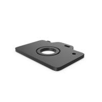 Black Symbol Photo Camera PNG & PSD Images