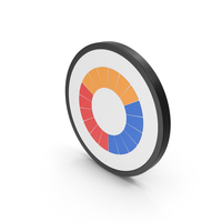 Icon Pie Chart Colored PNG & PSD Images