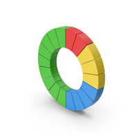 Symbol Pie Chart Colored PNG & PSD Images