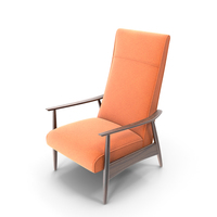 Recliner  Armchair by Milo Baughman PNG & PSD Images