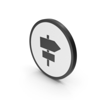 Icon Road Sign Post PNG & PSD Images