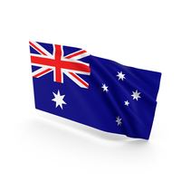 Australia Waving Flag PNG & PSD Images
