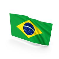 Brazil Waving Flag PNG & PSD Images