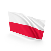 Poland Waving Flag PNG & PSD Images