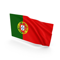 Portugal Waving Flag PNG & PSD Images