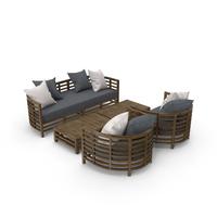 Garden Furniture Set PNG & PSD Images