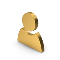 Gold Symbol People PNG & PSD Images