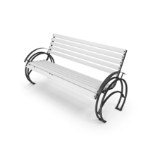 Bench White PNG & PSD Images