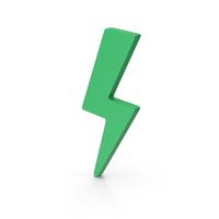 Symbol Storm Green PNG & PSD Images