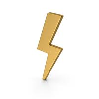Symbol Storm Gold PNG & PSD Images
