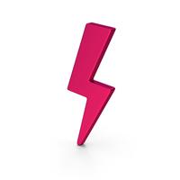 Symbol Storm Pink PNG & PSD Images