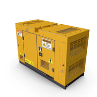 Power Generator Yellow Used PNG & PSD Images
