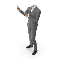 Presentation Suit Grey PNG & PSD Images