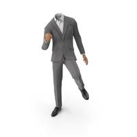 Success Suit Grey PNG & PSD Images