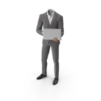 Notebook Suit Grey PNG & PSD Images