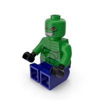 Lego Killer Croc Sitting PNG & PSD Images