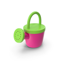 Toy Watering Can PNG & PSD Images