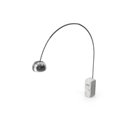 Arco Lamp by Castiglioni for FLOS PNG & PSD Images