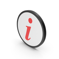 Icon Info Red PNG & PSD Images