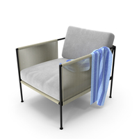 Antibes Outdoor Armchair PNG & PSD Images