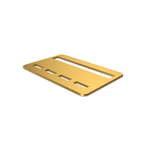 Gold Symbol Bank Card PNG & PSD Images