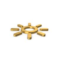 Gold Symbol Sun PNG & PSD Images