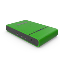 Power Bank Green Used PNG & PSD Images