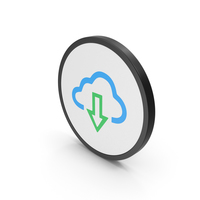 Icon Cloud Download PNG & PSD Images