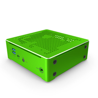 Mini PC Green PNG & PSD Images