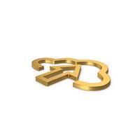 Gold Symbol Upload PNG & PSD Images