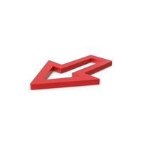 Red Symbol Arrow PNG & PSD Images