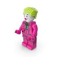 Lego Joker Dark Pink PNG & PSD Images