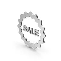 Symbol Sale Silver PNG & PSD Images