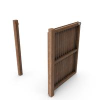 Garden Door Wooden PNG & PSD Images