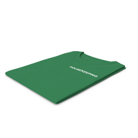 Female Crew Neck Folded Green Housekeeping PNG & PSD Images