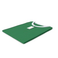Female Crew Neck Folded With Tag White and Green PNG & PSD Images