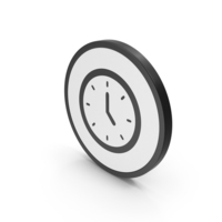 Icon Clock PNG & PSD Images