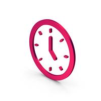 Symbol Clock Metallic PNG & PSD Images