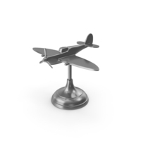 Spitfire Airplane Figure PNG & PSD Images