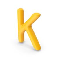 Letter K Orange PNG & PSD Images