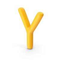 Letter Y Orange PNG & PSD Images