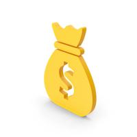 Symbol Money Bag Orange PNG & PSD Images