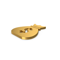 Gold Symbol Money Bag PNG & PSD Images