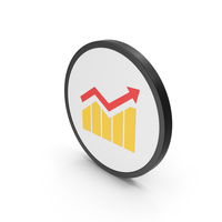 Icon Graph Yellow PNG & PSD Images